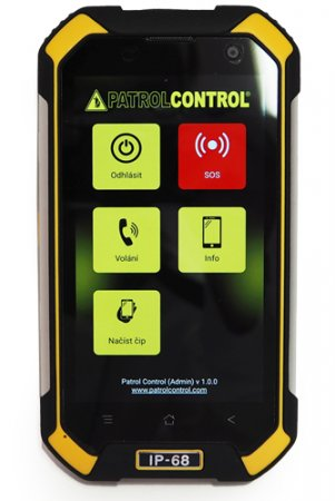 Application PATROLCONTROL GSM - for manager